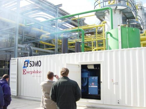 Installation of diesel generator